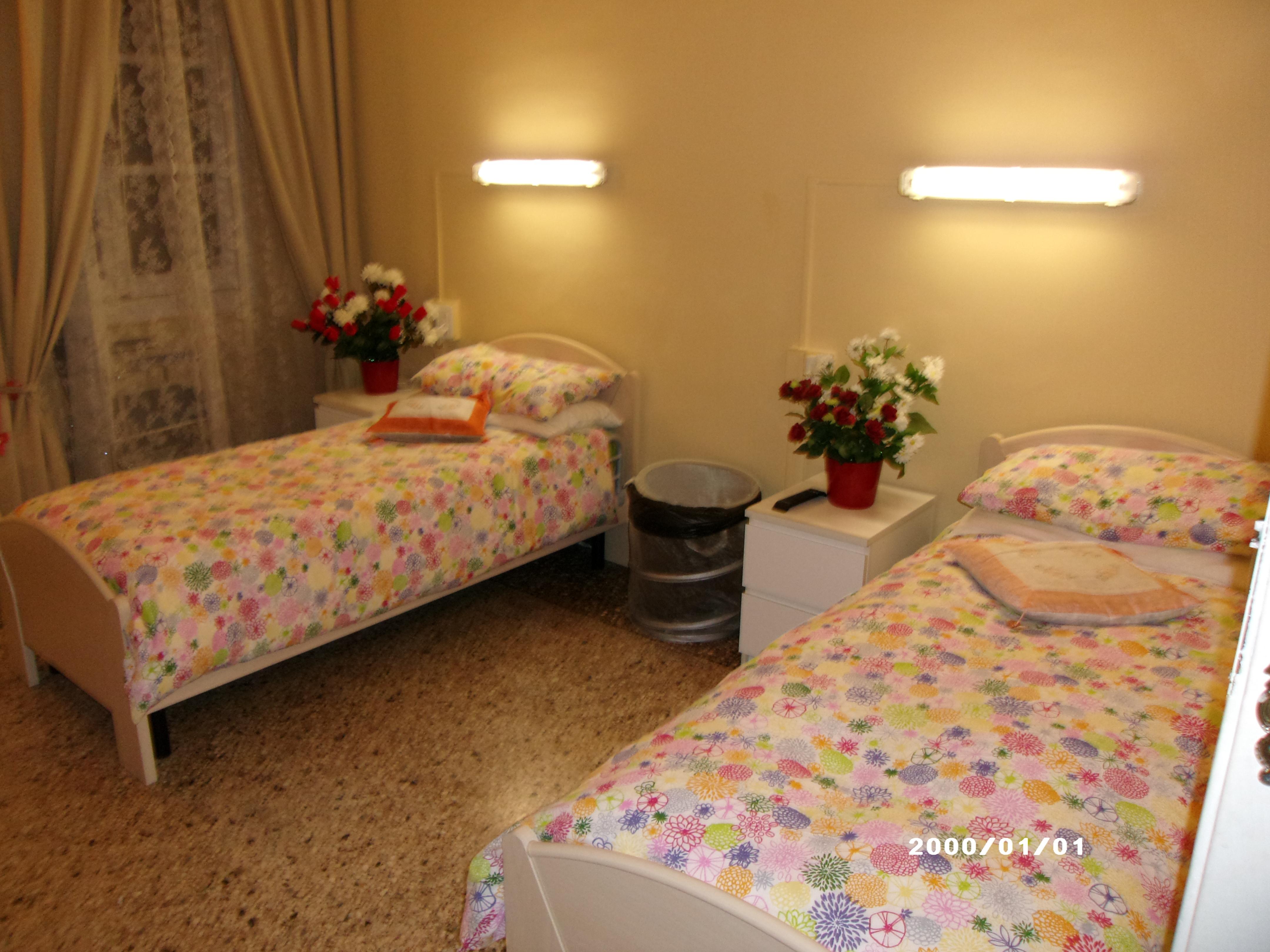Stanze comunit alloggio per anziani angelo custode for Casa di sei stanze